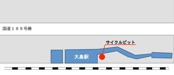 サイクルピット案内図